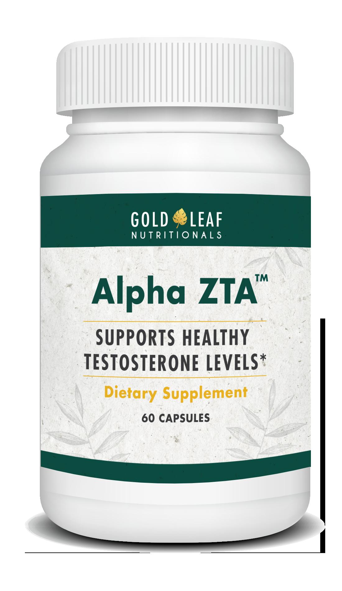 Bottle of AlphaZTA