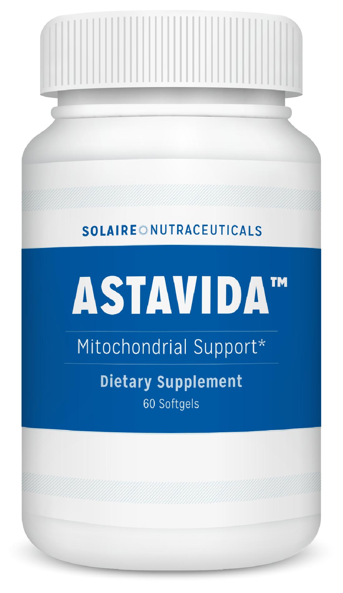 Bottle of AstaVida