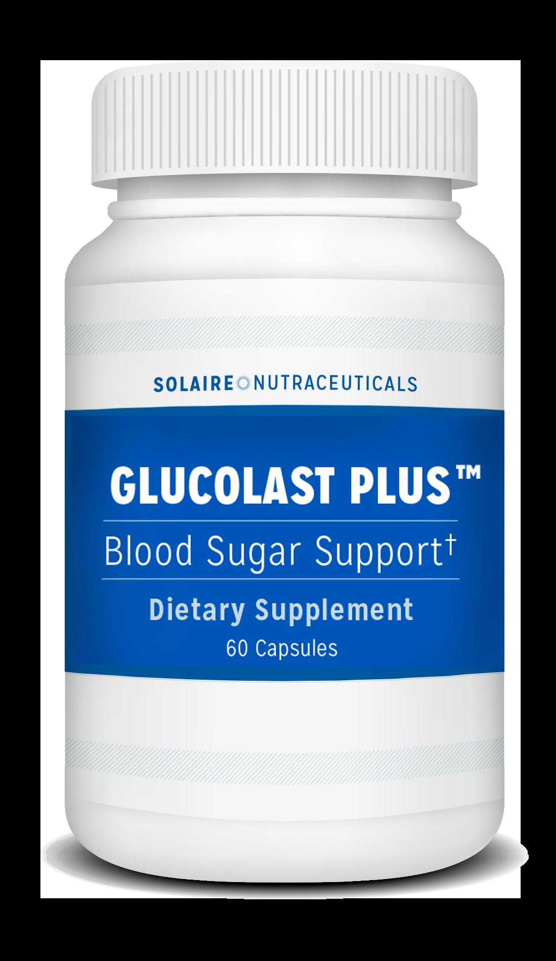 Bottle of Glucolast
