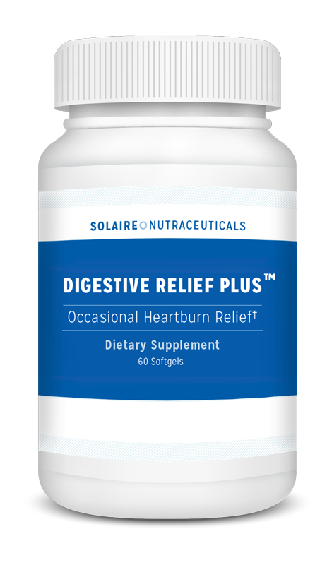 Bottle of Digestive Relief Plus