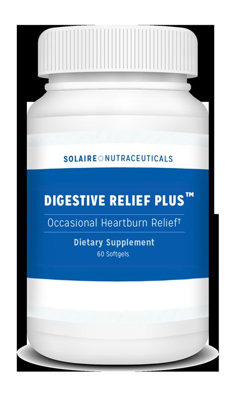 Bottle of Digestive Relief Plus